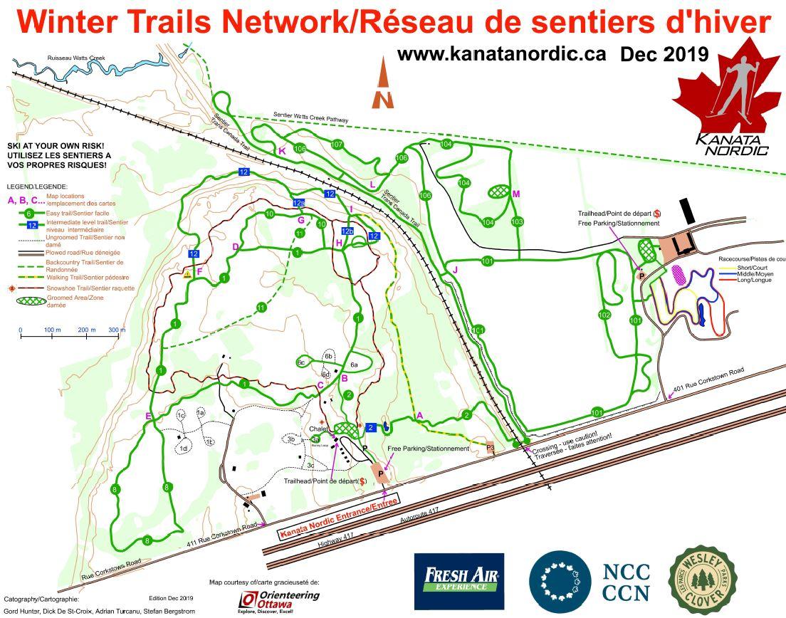 Club trail map