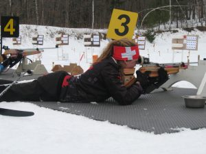 Biathlon Bears air rifle shooting