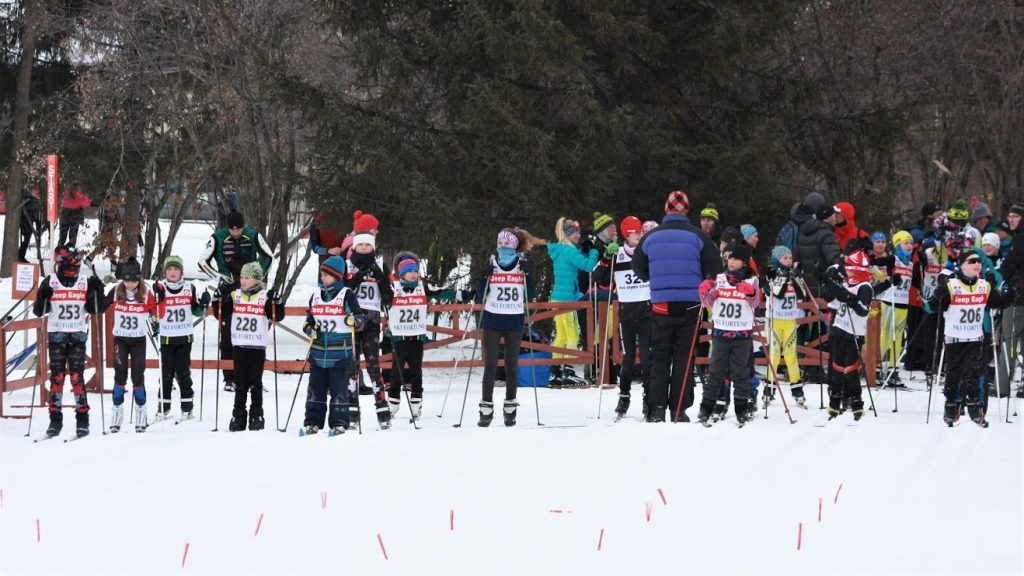 Pretzel Race 2019 start line